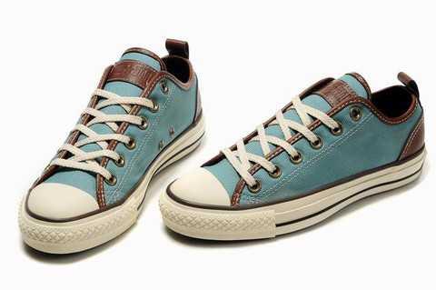 chaussure converse femme en cuir