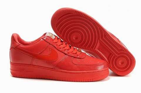 chaussure air force one rouge