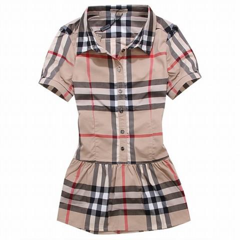 071524a192b pas cher chemise burberry pour fille - Achat
