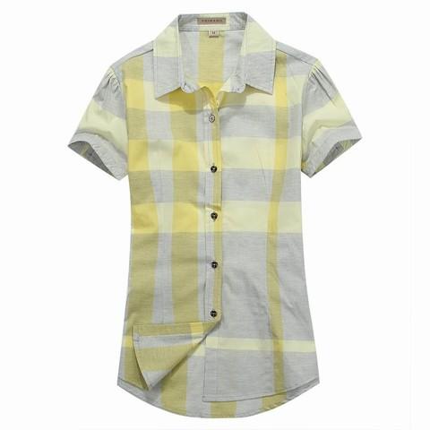 Chemise burberry chemise Courte Moins Cher Burberry Manche 8qtB8xwUr 751ea2093eb