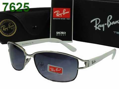 lunette de soleil ray ban homme blanche lunettes de vue