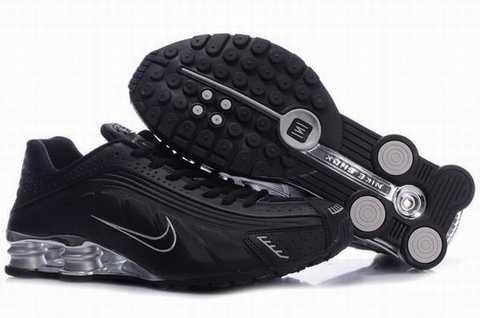 Nike Shox Rivalry Noir Et Violet